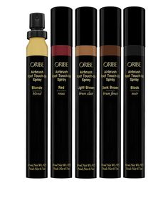 Oribe Airbrush Root Touch-Up Spray @ PureWow: It mists a quick-setting colored powder that conceals any regrowth. Best Root Touch Up, Root Touch Up Spray, Grey Hair Touch Up, Concealer, John Frieda, Root Cover Up, Covering Gray Hair, Cover Gray, Beauty Inside