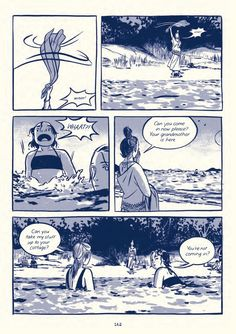 Read an exclusive excerpt from Jillian and Mariko Tamaki& gorgeous new graphic novel. Graphic Novel Art, Illustration Art, Comic Illustrations, Comic Page, Comic Artist, Comic Books Art, Comic Strips, Book Design, Illustrators