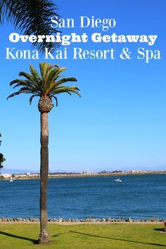 How To Plan A Weekend Getaway To Partner, Kona Kai Resort & Spa!