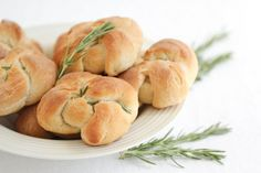Rosemary Bread Knots | Kirbie's Cravings | A San Diego food & travel blog
