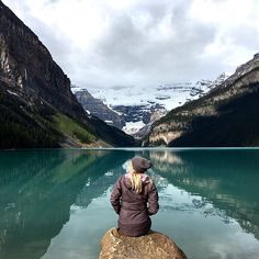 Lake Lousie, Canada.   Find joy in the ordinary and the mundane.  Appreciate and be thankful for the extraordinary.  #Canada #banff #explorealberta #adventure #adventurethatislife