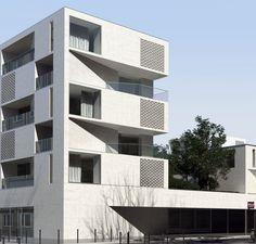 Logements collectifs L'ilot Seguin - aum architects