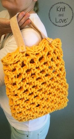 Bolso Mía a crochet Knit and Love