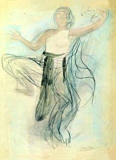 Danseuse Cambodgienne - Auguste Rodin (1906)