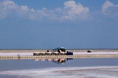 salt extraction at sivash lake Healing Clay, Sick, Beach, Water, Outdoor, Gripe Water, Outdoors, Seaside, Outdoor Games
