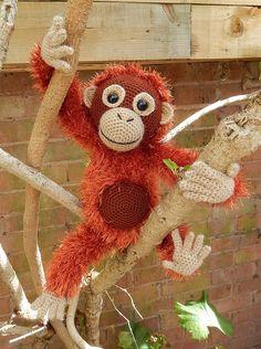 Orwell the Orangutan by Moji-Moji design