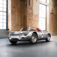 "135.3k Likes, 375 Comments - Porsche (@porsche) on Instagram: ""In 1957, a lively, energetic roadster known as the 718 RSK took the racing world by storm. Today,…"""