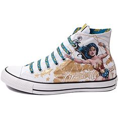 All Star Hi Wonder Woman Sneaker DC Comics *** More info could be found at the image url. (This is an affiliate link and I receive a commission for the sales)