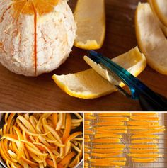 Şekerlendirilmiş portakal kabuğu aldatıcı olarak basittir ve lezzetle yüklenir!  Olduğu gibi (lezzetli!) Yenilebilir veya diğer tariflerde kullanılabilir.