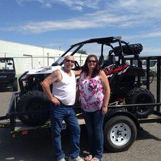 Brenda with her new 2015 Wildcat from Ralph's Motorsports! @ralphs_motorsports