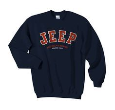 Sweatshirt Outfit Cute Sweaters Ideas For 2019 Hoodie Sweatshirts, Jeep Sweatshirt, Sweatshirt Dress, Halloween Sweatshirt, Jeep Shirts, Adrette Outfits, Preppy Outfits, Grunge Outfits, Men's Apparel