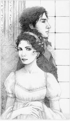 Pride and Prejudice - pencil by ~ ellaine on deviantART