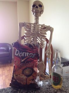 """""""Don't do it, Barnaby! Bring Up, Monster University, Doritos, Friends Day, Book Signing, Skeleton, Bones, Grunge, In This Moment"""