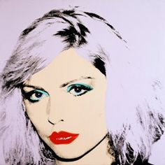 Andy Warhol's 1980 paintings of Debbie Harry--best known for being the lead singer of the punk rock and new wave band Blondie--are some of his most accomplished portraits.