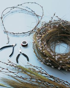 How to make Spring Nests