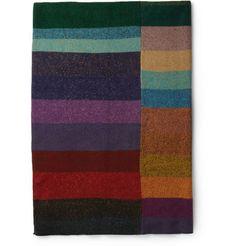 The Elder Statesman Panelled Cashmere Blanket | MR PORTER