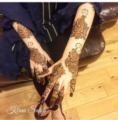 Henna for the beautiful Arooba ❤️❤️ Modern Henna Designs, Latest Henna Designs, Rose Mehndi Designs, Arabic Henna Designs, Indian Mehndi Designs, Mehndi Designs For Beginners, Mehndi Designs For Girls, Wedding Mehndi Designs, Latest Mehndi Designs