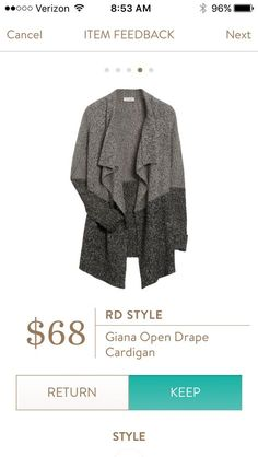 Love this cardigan. Looks so warm and comfy!! LOVE IT!!