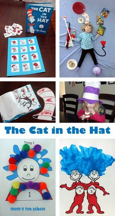Dr. Seuss Crafts and Learning Activities for Toddlers and Preschoolers!