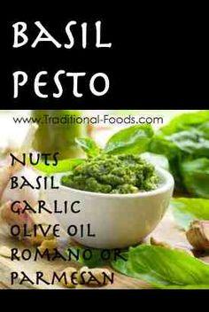 Basil Pesto @ Traditional-Foods.com