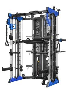 Force USA All-In-One Trainer / Counter Balanced Smith Machine & Squat Rack with an enormous Dual Weight stack ratio) total built to the very highest of quality. Pilates Studio, Pilates Reformer, No Equipment Workout, Fitness Equipment, Gym Fitness, Pull Up Station, Usa Gym, Dip Bar, Gym Room At Home