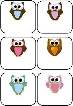 Owl Themed Blank Classroom Labels - 48 pages $5