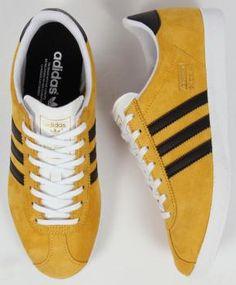 Adidas- Gazelle Yellow/Black