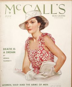 McCall's, July 1934, Neysa McMein cover