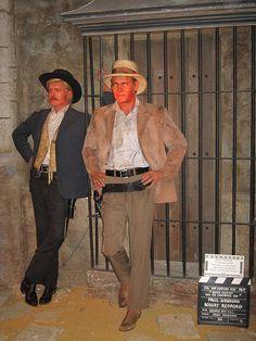 Robert Redford & Paul Newman.