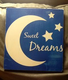 Sweet Dreams Sign by CountryCottageGC on Etsy