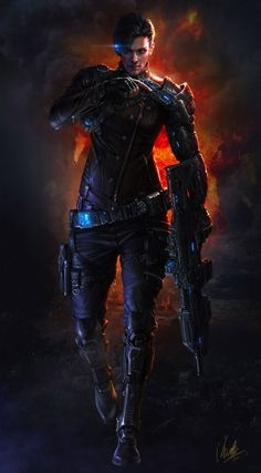 Cyberpunk, Futuristic, Soldiers return by Pirate Cyberpunk Character, Cyberpunk Art, Fantasy Warrior, Sci Fi Fantasy, Fantasy Men, Blade Runner, Character Concept, Character Art, Arte Ninja