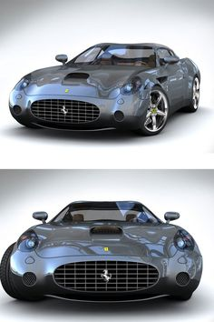 575 GTZ Zagato.2002-2006. Model from the 575 M ordered by a Ferrarís collector.