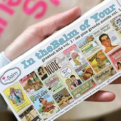 """The Balm """"In The Balm of Your Hands """"Palette The Balm """"In The Balm of Your Hands """" Palette The Balm Makeup"""