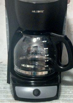 Mr. Coffee CG13 12-Cup Auto Coffee Maker Brewer Machine Blk Excellent Conditioi #MrCoffee