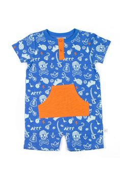 Rosie Pope - Pirate Romper (Baby Boys) is now 53% off. Free Shipping on orders over $100.