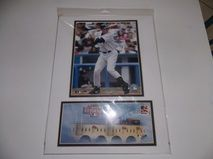 2004 Alex Rodriguez Photo File 12x16 Double Matted Photo & 2004 Houston All Star Game NIP    Brand New Mint     $8.95