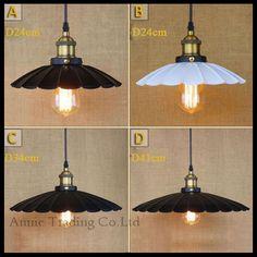 26.99$  Buy here - http://aisor.worlditems.win/all/product.php?id=32413957064 - AC100-240V Modern D24/D34/D41cm Creative unbrella Lotus leaf lamp shade pendant light  black white pendant hanging lamp