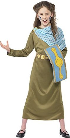 awesome       £13.51  Become the Celtic Warrier Queen in this Childrens three piece Horrible Histories Boudicca Costume which comes complete with a ...  Check more at http://fisheyepix.co.uk/shop/smiffys-boudica-horrible-histories-childrens-fancy-dress-costume-large-158-cm-age-10-12-years/