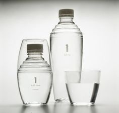 Designed by Perennial Design | Country: Canada  the first bottle in the world to feature an integrated cup.