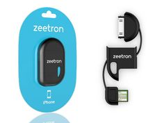 The Zeetron Ultra Compact Keychain USB Cable is a nifty little USB device made to attach to a keychain and be used on the go. GetdatGadget.com/zeetron-ultra-compact-keychain-usb-cable/