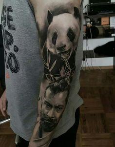 #panda #tattoo