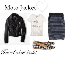 How to Wear a Moto Jacket! http://www.momgenerations.com/2014/10/7-ways-to-wear-a-moto-jacket-fashionfriday/ #fashion #style