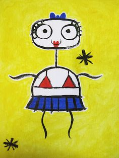 Heather Burns Illustration: Joan Miro Character: Tip!