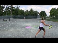 Tennis Drill - Improve your Tracking and Adaptation Skills - YouTube