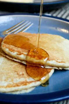 Low Fat Multigrain Pancakes - Food & Whine