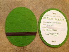 Simple Creations by Nubia: Teenage Mutant Ninja Turtle birthday card Ninja Turtle Party, Ninja Turtles, Ninja Turtle Birthday, Birthday Party Themes, Birthday Cards, Birthday Ideas, 5th Birthday, Birthday Stuff, Birthday Celebrations