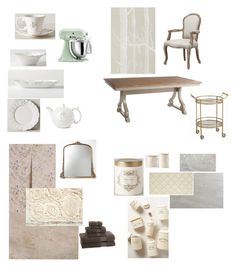"""""""Kitchen"""" by stacylovespink on Polyvore featuring interior, interiors, interior design, home, home decor, interior decorating, Anthropologie, Urban Outfitters, Kassatex and Illume"""