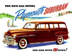 1949 Plymouth Suburban all-steel