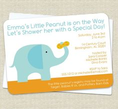 Like the 'little peanut' for elephant theme