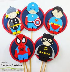fun-ideas handmade: DC vs. Marvel